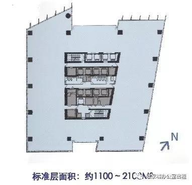 东亚银行金融大厦户型图