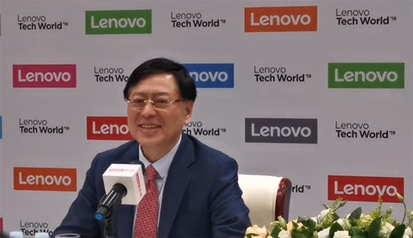 杨元庆:联想将选择合适时机发布折叠屏手机,让市场接受