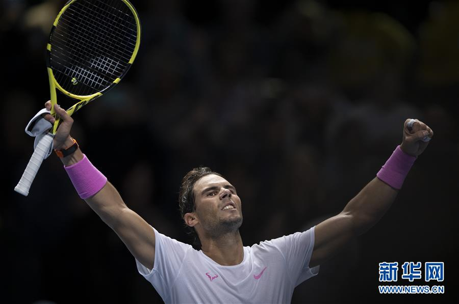 ATP年终总决赛:纳达尔逆转梅德韦杰夫
