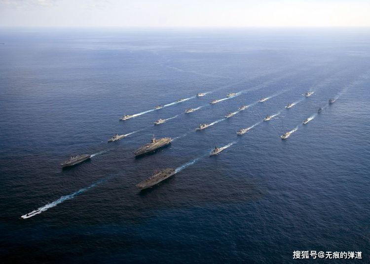 航母战斗群怕不怕潜艇,拍胸脯的说:不怕!因为早已撒下天罗地网_反潜
