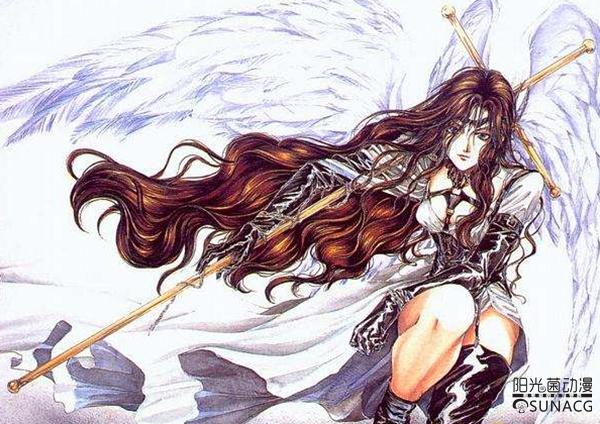 """日本動漫中六位知名度較高的""""天使"""",90后童年女神也在其中!_阿斯特蕾亞"""