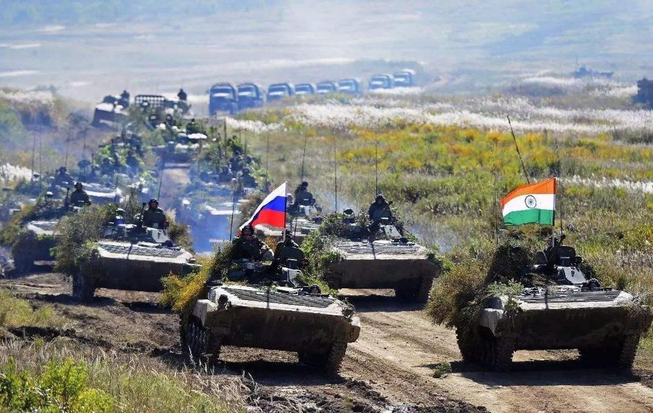 """俄罗斯东部军区,讨论举行""""因陀罗"""",俄印联合军演的计划"""