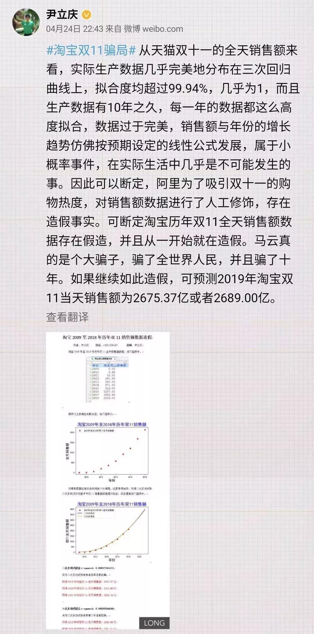 """马云回应数据造假,建议国家放假,还说""""双11""""对阿里没多大意义"""