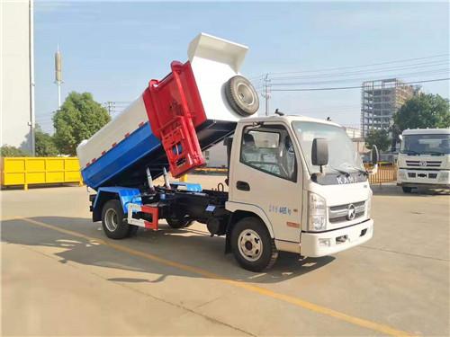 蓝卡没有超重。五凯马5面垃圾车配柴蔚110马力/西柴88马力发动机