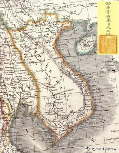 法姓人口_法国人绘制的中国历史地图, 看看和我们的有什么不同