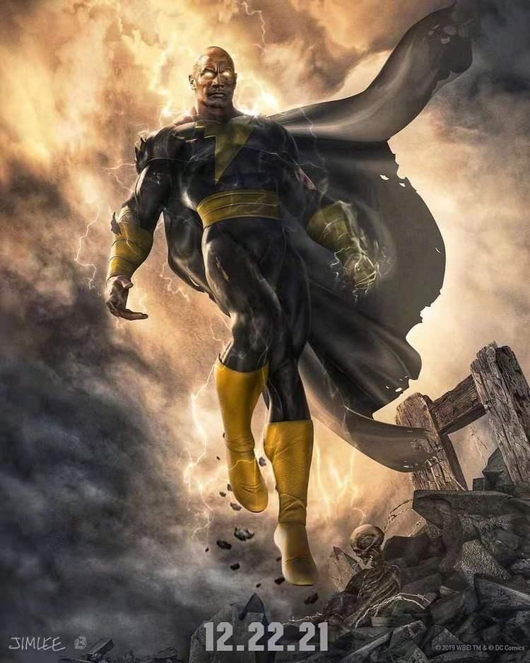 DC新片《黑亞當》官宣定檔,上映時間非常遙遠,網友表示很期待