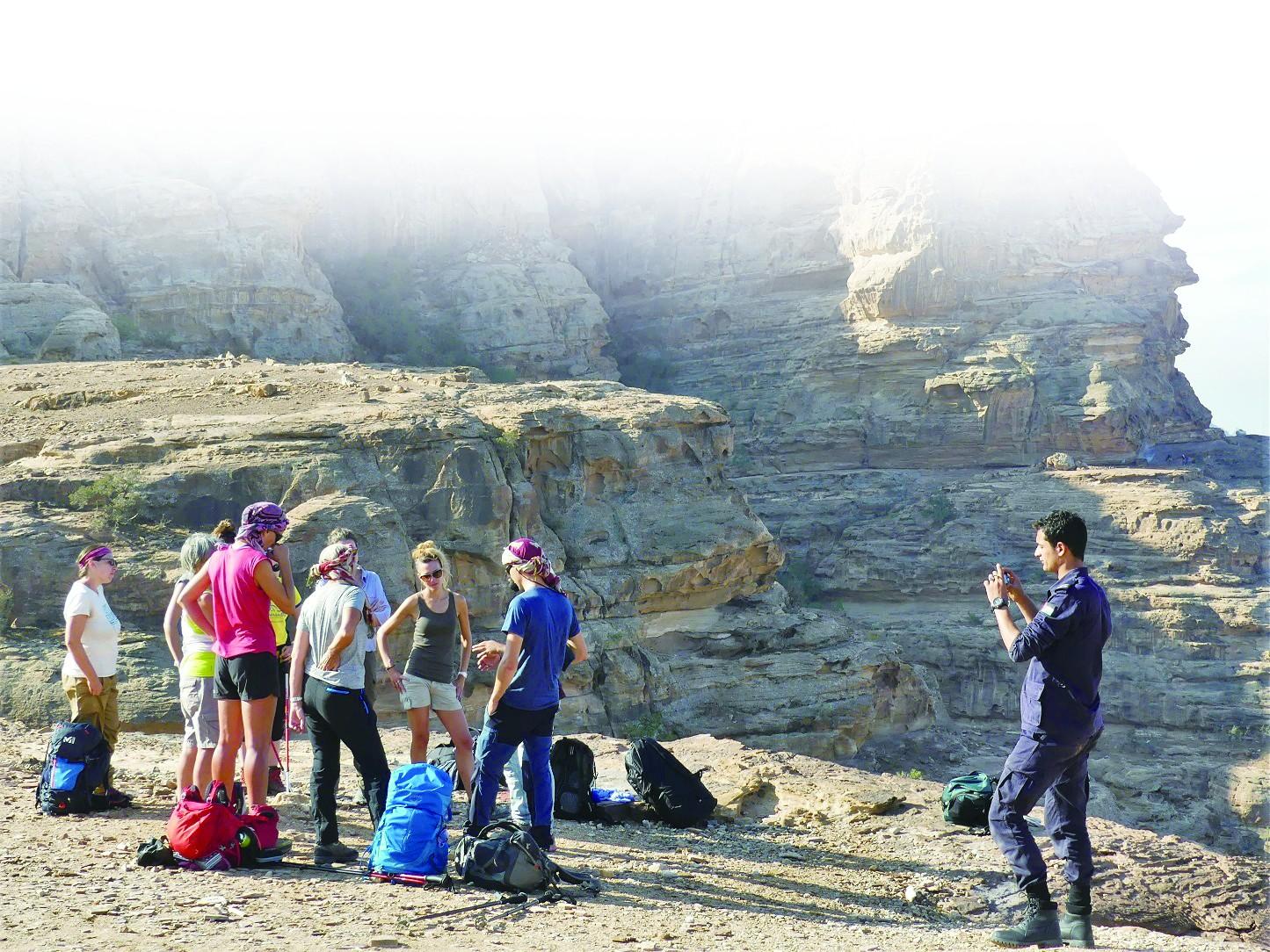 在约旦享受私人警察陪游
