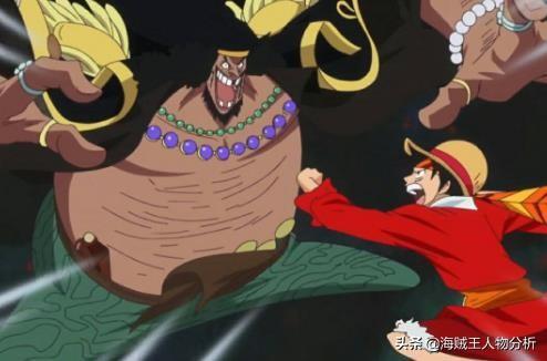 海賊王:現在路飛海賊團能和黑胡子海賊團匹敵嗎?_草帽