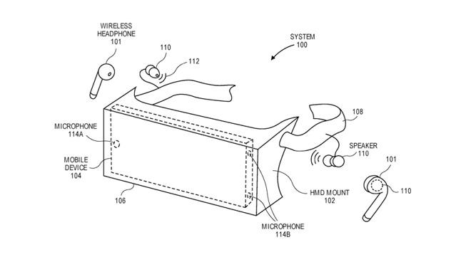 苹果公司三项增强现实新专利曝光可能用于2022年的苹果AR头显