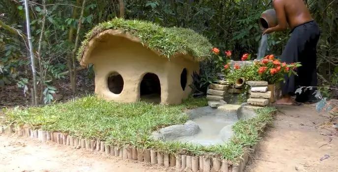 豪华狗窝:中式泳池豪宅、田园风情别墅、三层跳台别墅,人看了都想住