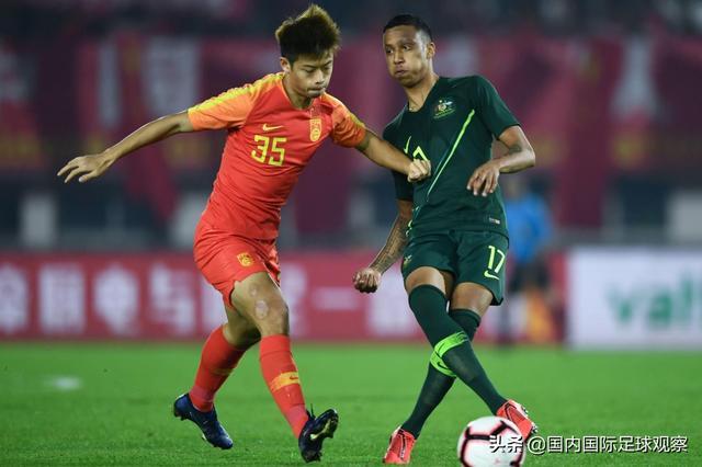 中国国奥队1-5!北京国安前锋建功!鲁能球员首发!杨立瑜失良机