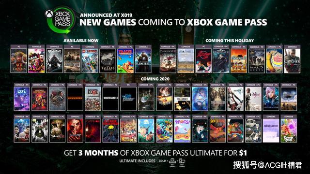 微软钞能力爆发,巫师3和如龙系列等50多款游戏将登陆XGP游戏库_Xbox