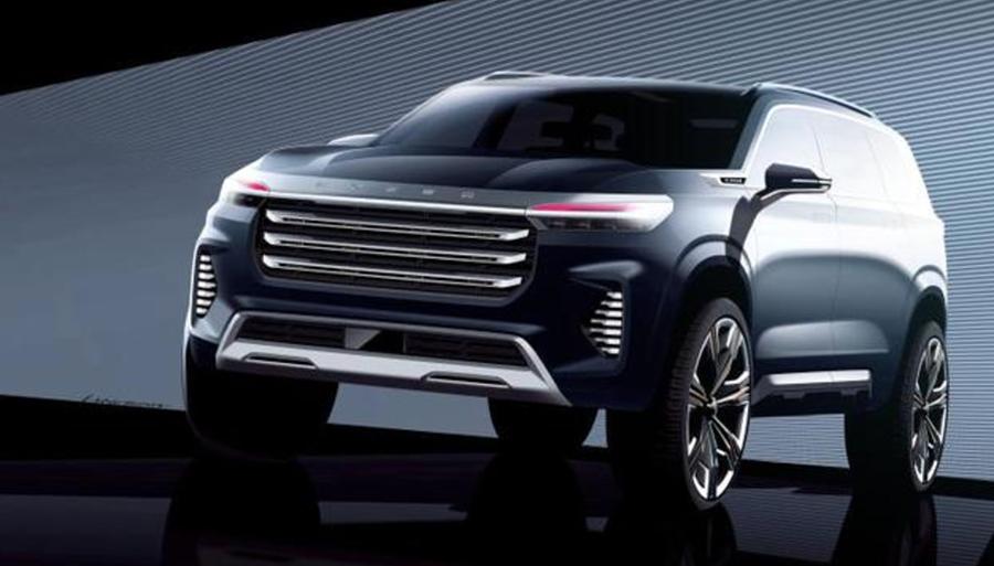 定位于中大型SUV,星途VX概念车设计图曝光,将于广州车展亮相_搜狐汽车_搜狐网