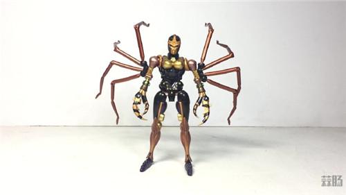 变形金刚大师系列MP-46蜘蛛勇士实物图公开_玩具