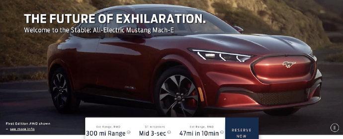 福特Mustang Mach-E提前外泄,价格实车全部曝光 _搜狐汽车_搜狐网