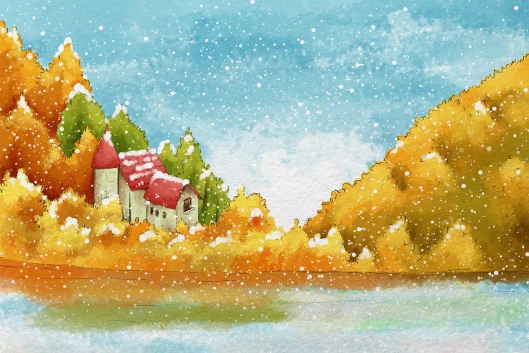 与冬牵手,悠然岁月