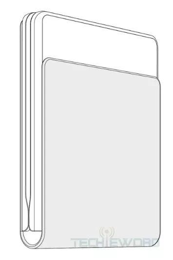 华为翻盖式折叠屏手机专利曝光