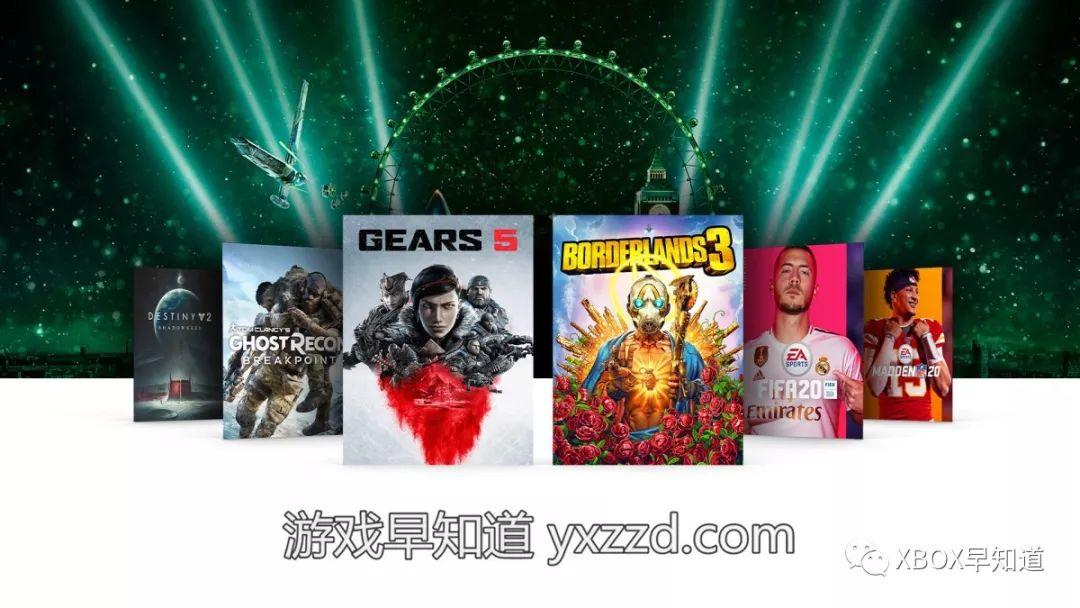 X019主题限时促销开启 含《无主之地3》《命运2:暗影要塞》《FIFA 20》