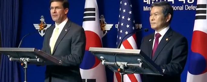 美方要求防卫费翻5倍 韩国:我太难了