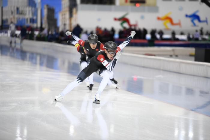 環球網:創歷史!速滑世界杯中國男隊首獲團體沖刺銀牌