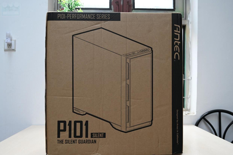 大容量静音堡垒,用安钛克P101静音机箱,获得更安静的工作环境_