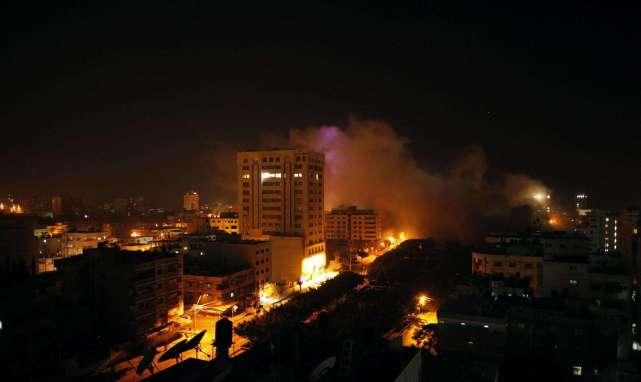 以色列频繁越境轰炸叙利亚,其目的是为了针对叙利亚本身吗?_袭击