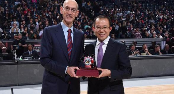 正式絕交!蕭華拋下40億美元,騰訊也找到NBA替代品,姚明很給力_莫雷