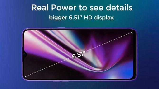 一则realme5s的新动态等你查收:6.51英寸+720p分辨率