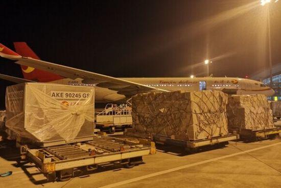 """重庆机场正式开通""""国际转国际""""空空中转货运业务"""
