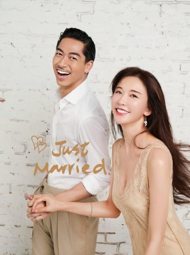 林志玲夫妇现身为婚礼彩排,两人手挽手很甜蜜,志玲一度感动落泪