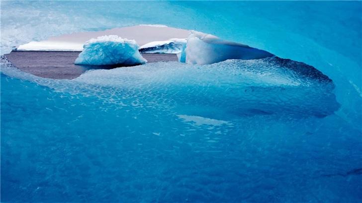 領略冰川之美:微軟發布《國家地理》南極洲高級版4K壁紙包_顏色