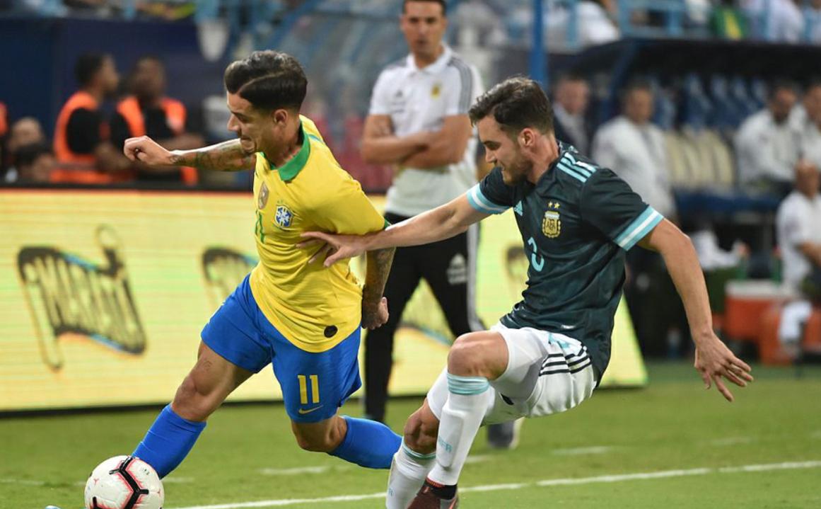 """硬氣!梅西讓巴西主帥閉嘴,與羅納爾多一起成為""""當家射手""""_巴薩"""