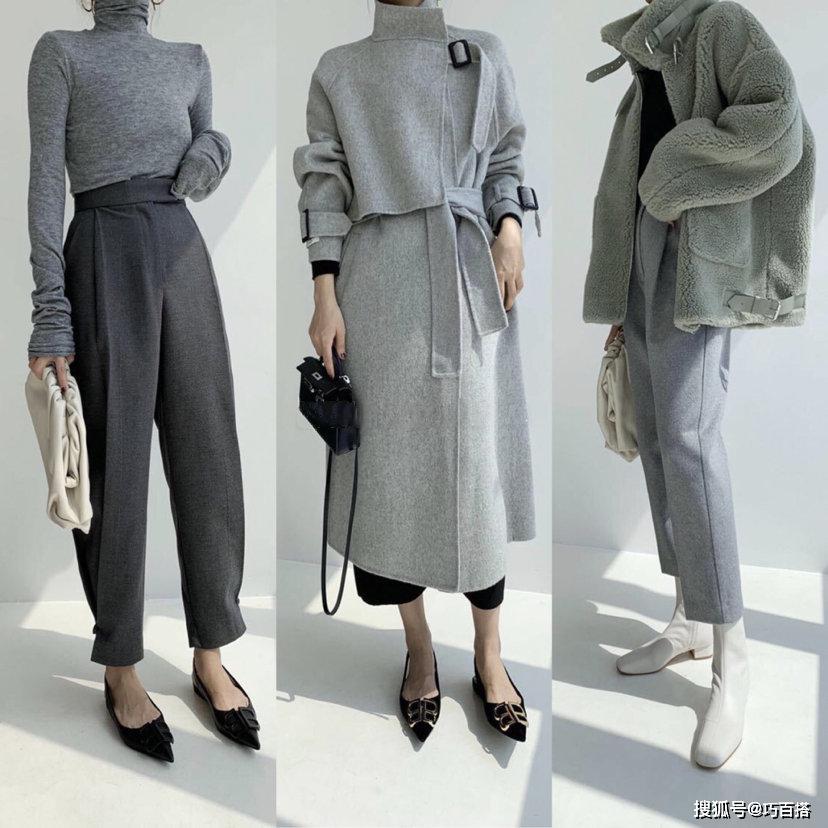 秋冬上班应该怎么穿?27套优雅时髦的搭配示范,一个月美得不重样