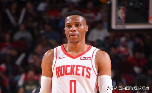 NBA:休斯敦火箭六连胜!威斯布鲁克17分!前山东男篮外援得到4分