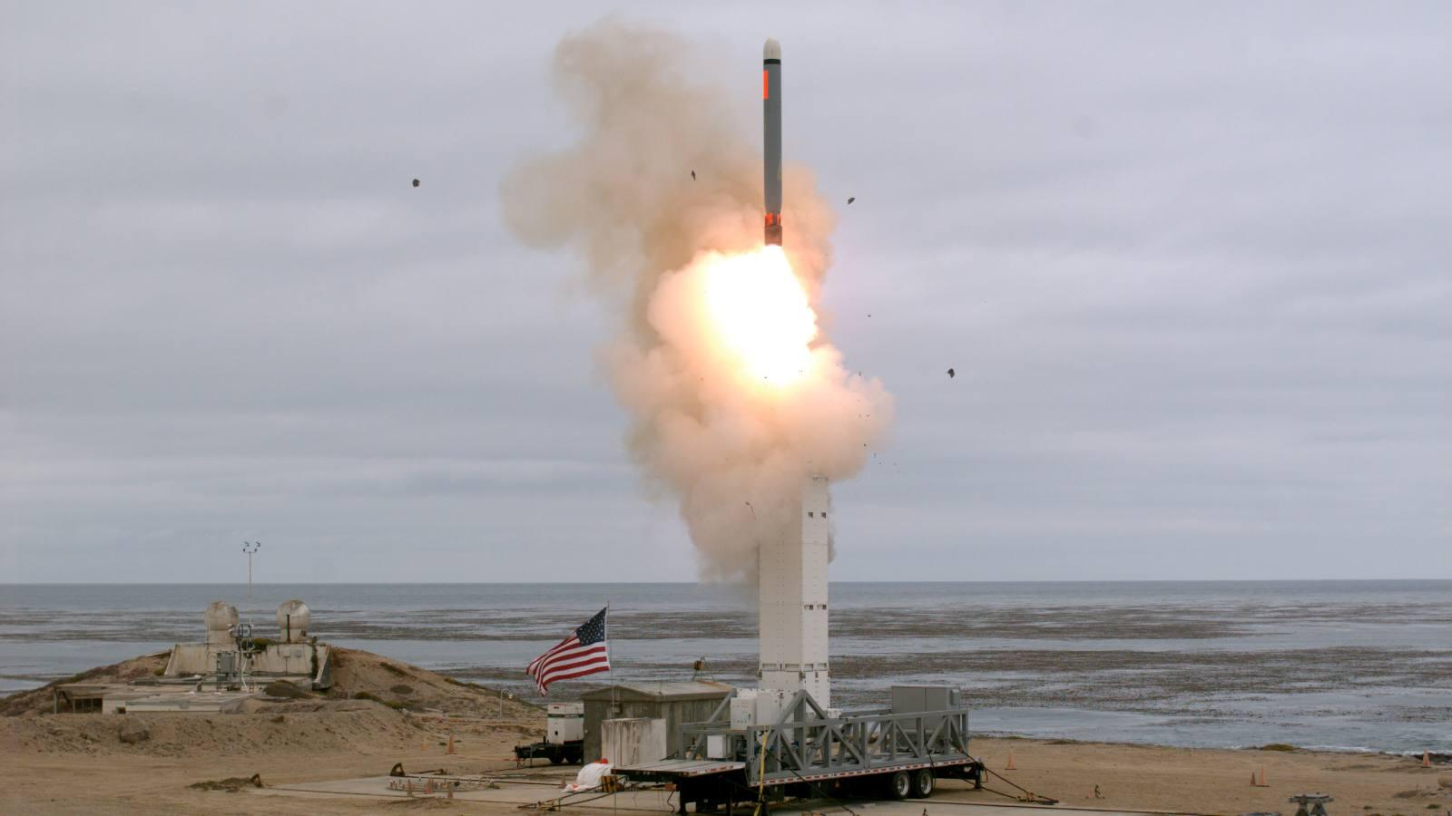 美軍即將試射一新型武器,一旦部署到歐洲,6到8分鐘能打到莫斯科_中導