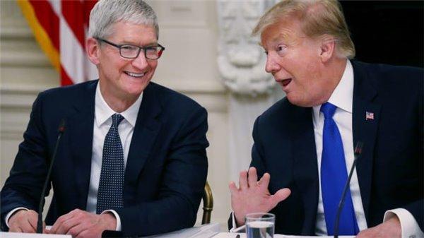 库克和特朗普将一同访问德克萨斯州,参观Mac Pro组装厂_关税