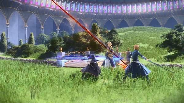 《刀剑神域:彼岸游境》新演示 桐人与爱丽丝拔剑相向