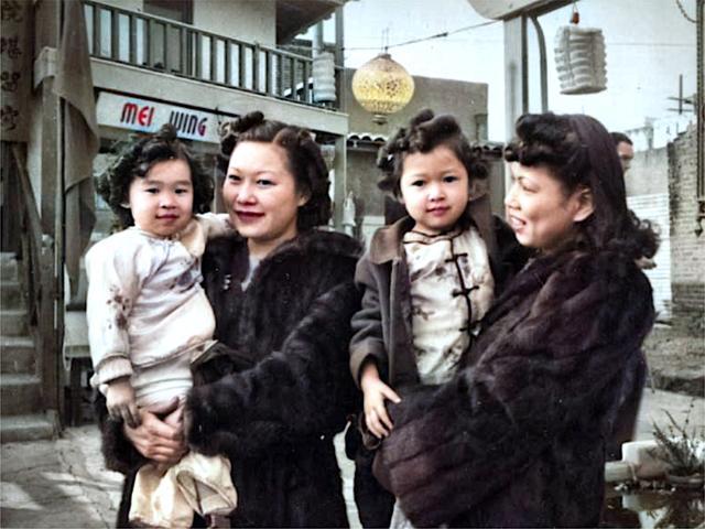抗战时期的洛杉矶华人社区,1938年_唐人街