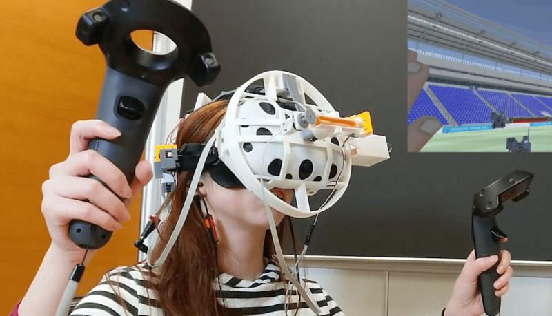"""想在VR中体验被""""打脸""""的感觉吗?_冲击"""