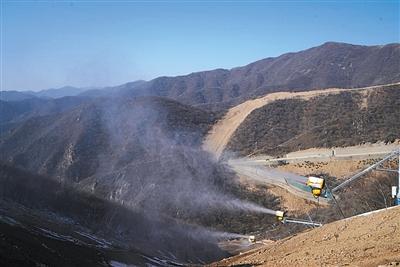 國家高山滑雪中心下月底完成造雪_相關