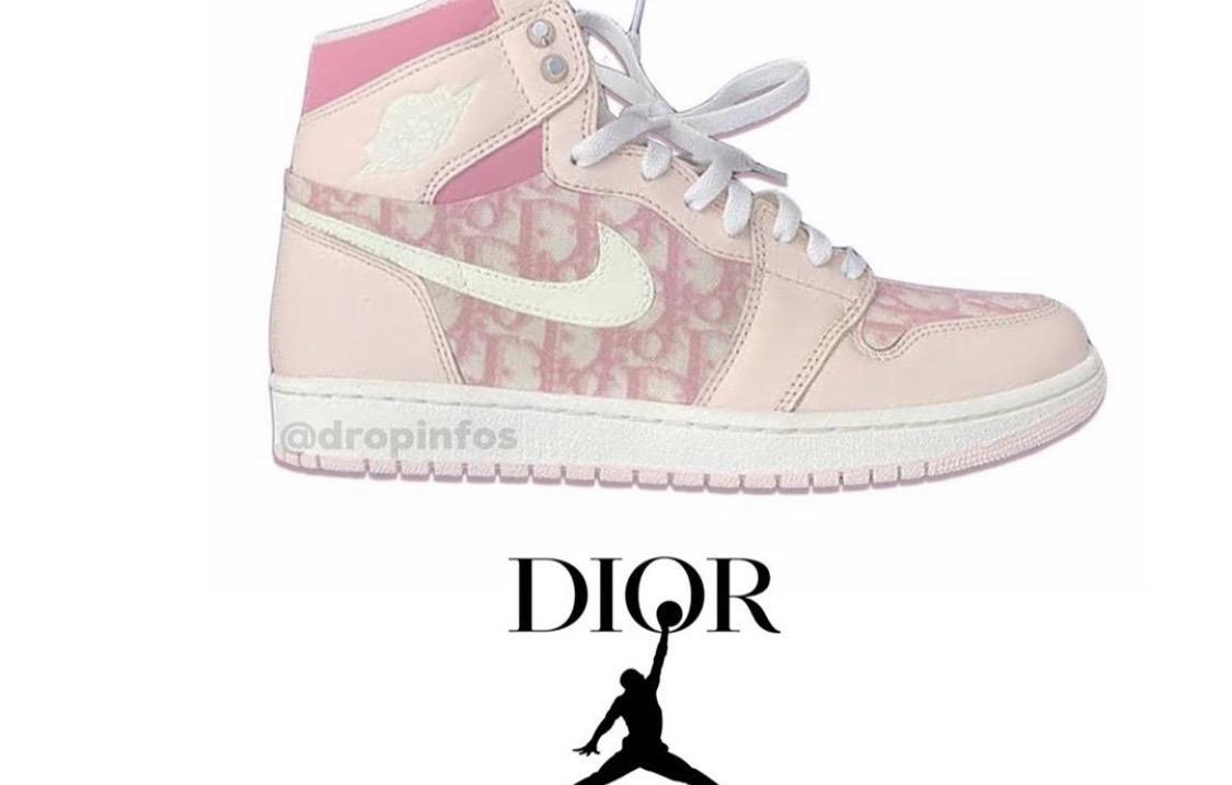 Dior x Air Jordan 1再爆联乘新配色!?这是你的菜么?_Brand