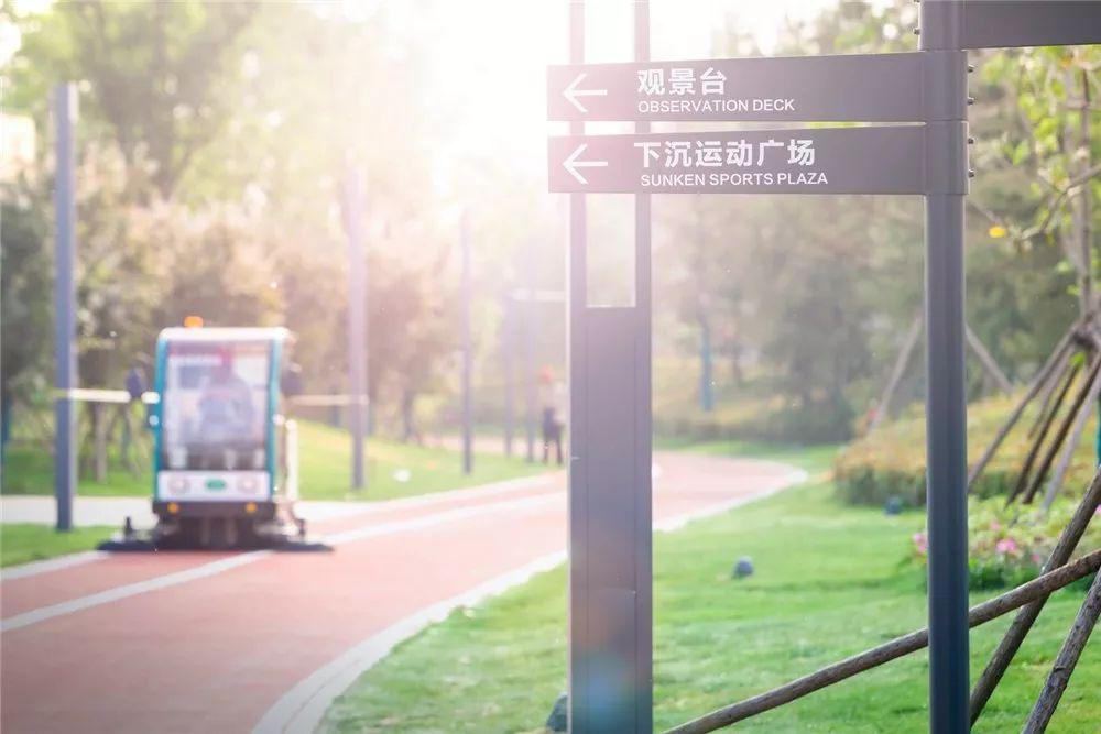 长葛产业新城中央公园 乐舞公园建成 即将对外开放 附航拍 高清图