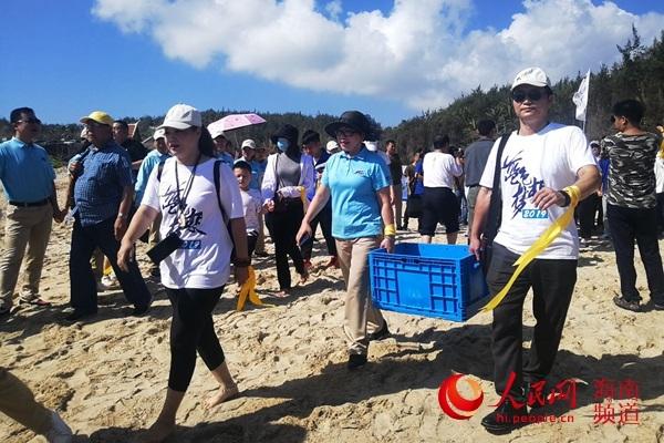 第五届南海海龟保护放归公益活动在海南文昌举办_海洋