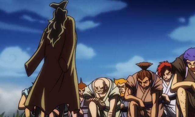 《海贼王》动画御田被杀过程,遭暗害,凯多的神秘部队是主要战力_路飞