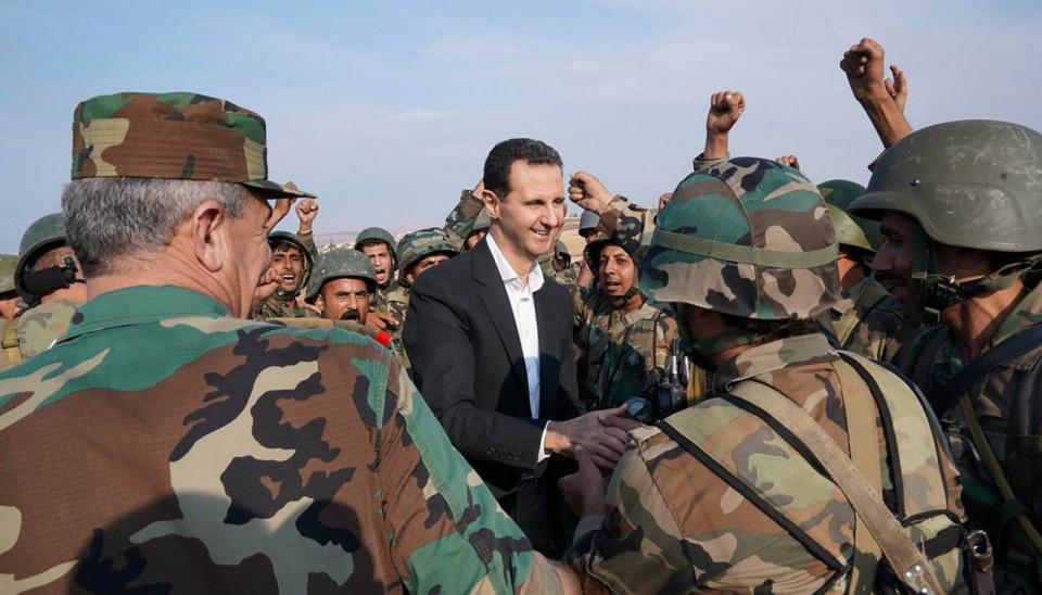要求叙利亚军队放弃抵抗!美拉上31个盟友!同时向阿萨德施压!_地区