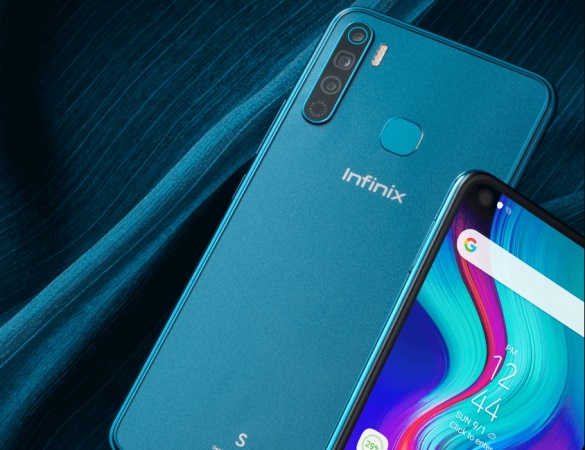 传音InfinixS5Lite手机正式推出:P22+打孔屏,售价约780元