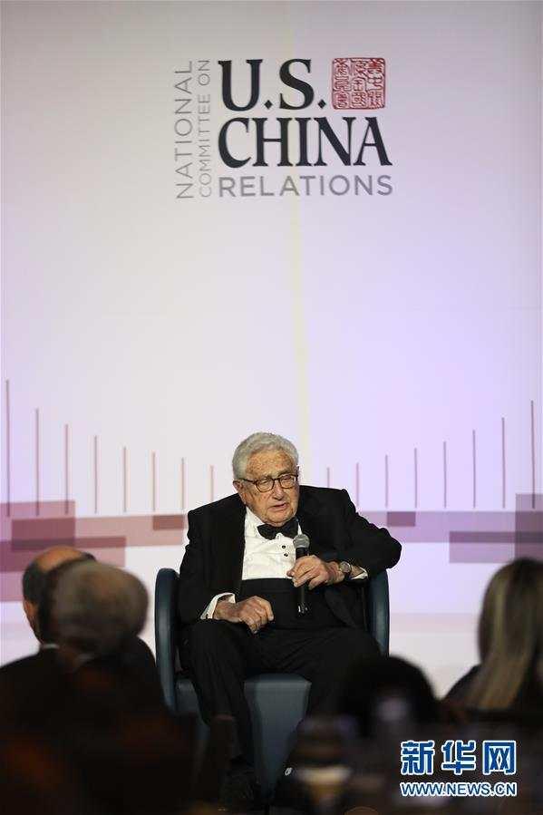 基辛格:美中应管控分歧 冲突会酿成不堪设想的后果_中国