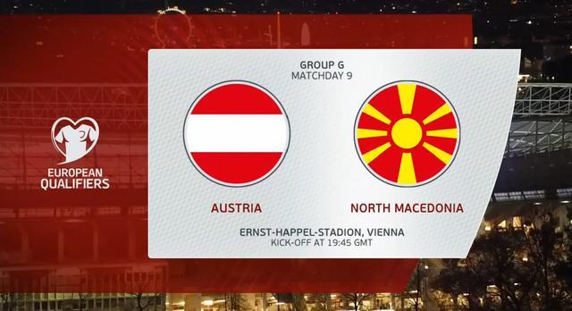 歐預小組賽第9輪:晉級正賽高枕無憂!奧地利積19分位列G組第2_比賽