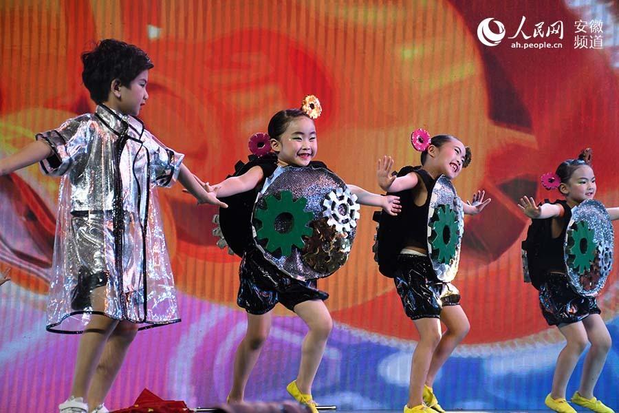 安徽省少兒舞蹈獲獎作品展演在淮南舉行_田家庵區