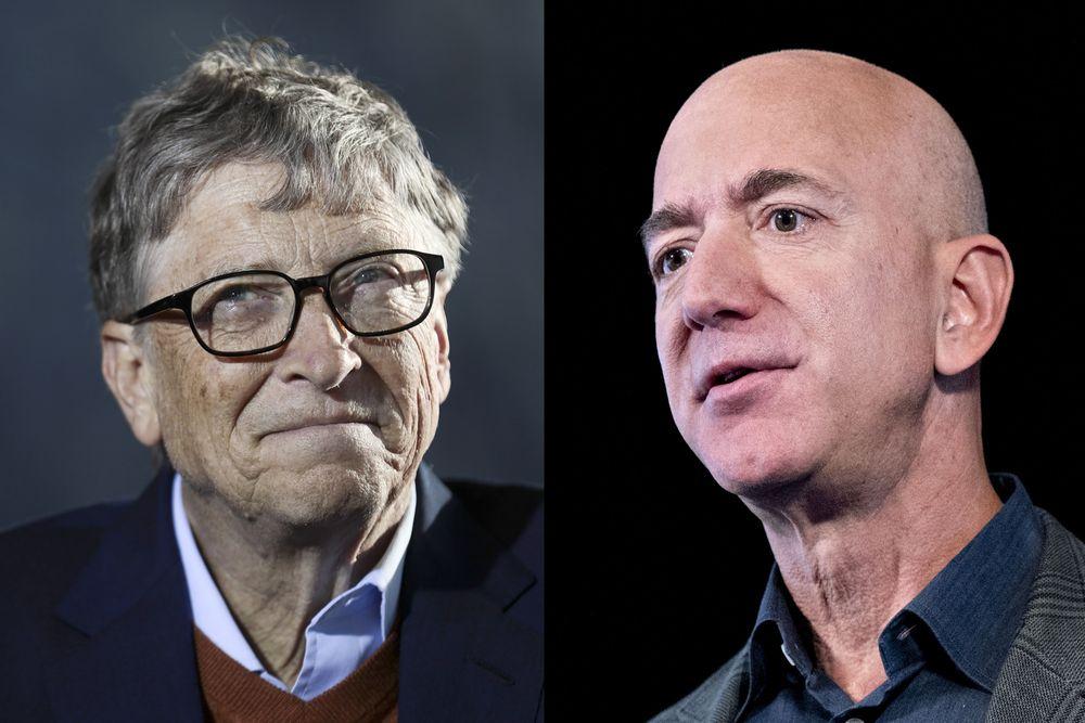 比尔·盖茨超越贝佐斯,时隔两年重新登顶世界首富